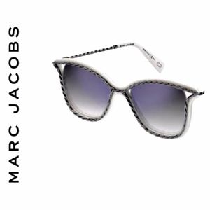 Marc Jacobs White Butterfly Twist Sunglasses